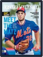 Baseball America (Digital) Subscription November 6th, 2015 Issue