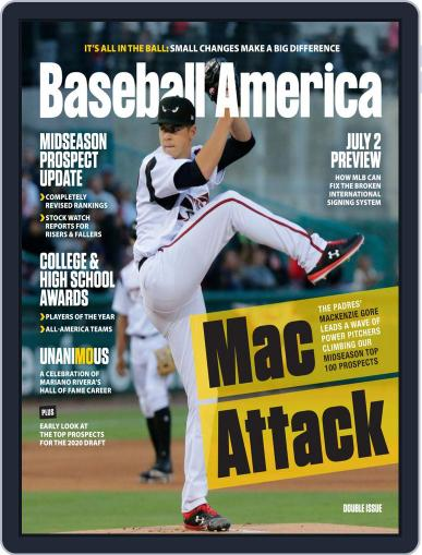 Baseball America July 1st, 2019 Digital Back Issue Cover