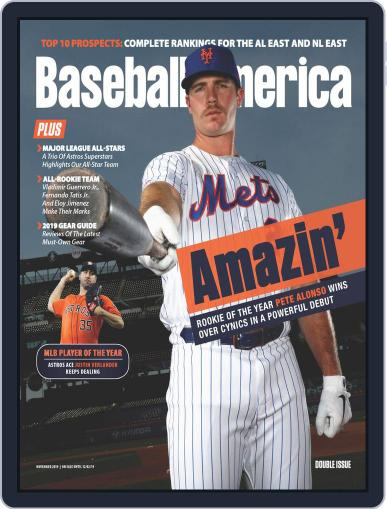 Baseball America November 1st, 2019 Digital Back Issue Cover