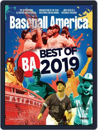 Baseball America December 1st, 2019 Digital Back Issue Cover