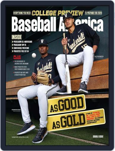 Baseball America February 1st, 2020 Digital Back Issue Cover