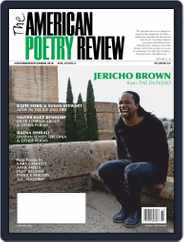 The American Poetry Review (Digital) Subscription November 1st, 2018 Issue