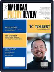 The American Poetry Review (Digital) Subscription May 1st, 2019 Issue