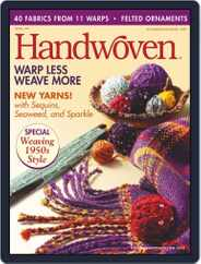 Handwoven (Digital) Subscription November 1st, 2007 Issue