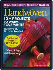 Handwoven (Digital) Subscription January 1st, 2008 Issue