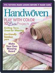 Handwoven (Digital) Subscription March 1st, 2008 Issue