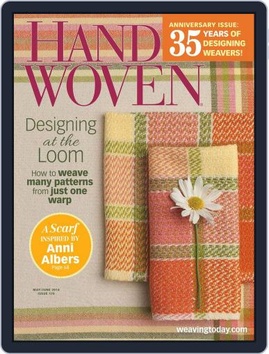 Handwoven May 21st, 2014 Digital Back Issue Cover