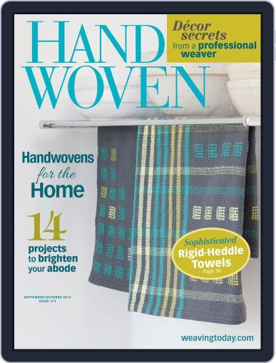 Handwoven July 23rd, 2014 Digital Back Issue Cover