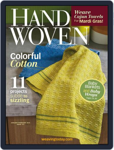 Handwoven December 11th, 2014 Digital Back Issue Cover