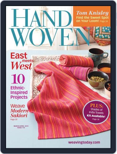 Handwoven March 1st, 2015 Digital Back Issue Cover
