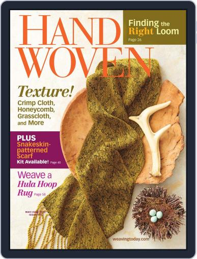 Handwoven May 1st, 2015 Digital Back Issue Cover