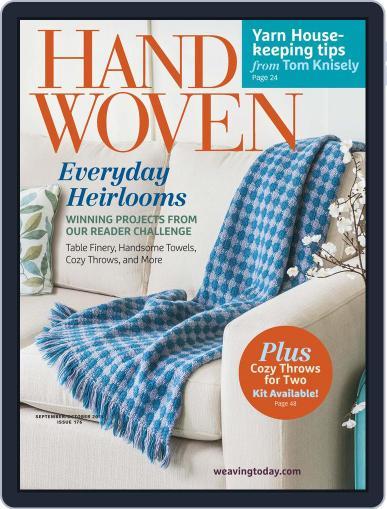 Handwoven September 1st, 2015 Digital Back Issue Cover
