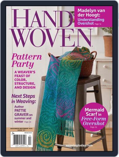 Handwoven November 1st, 2015 Digital Back Issue Cover
