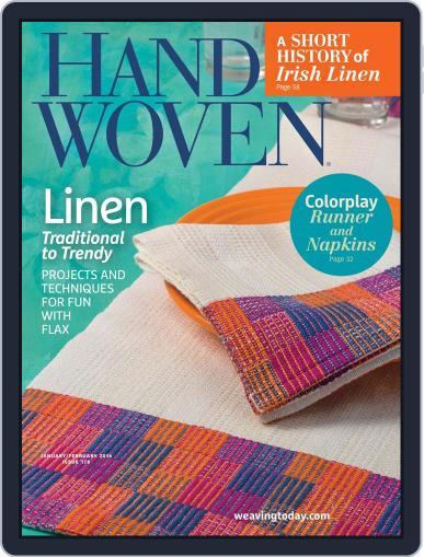 Handwoven December 5th, 2015 Digital Back Issue Cover