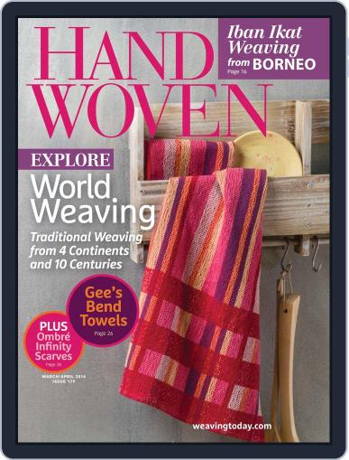 Handwoven March 29th, 2016 Digital Back Issue Cover