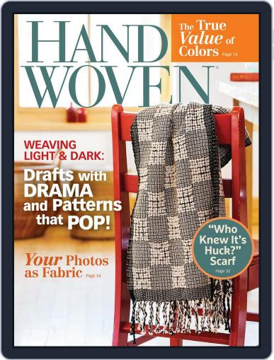 Handwoven May 31st, 2016 Digital Back Issue Cover