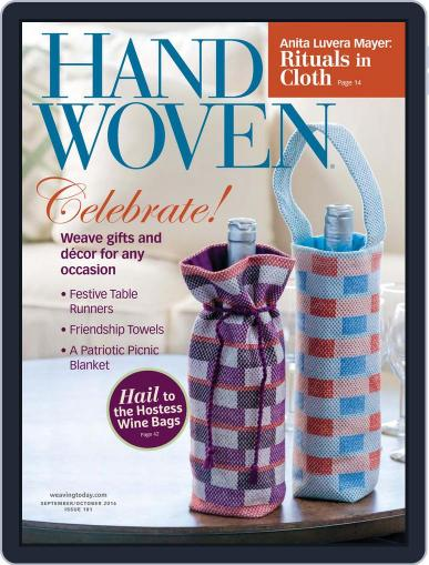 Handwoven August 2nd, 2016 Digital Back Issue Cover