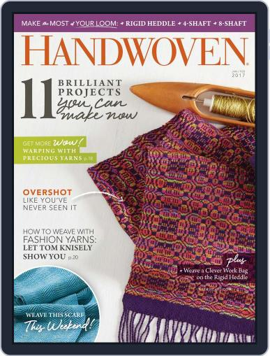 Handwoven January 1st, 2017 Digital Back Issue Cover