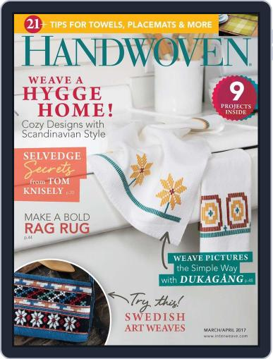 Handwoven March 1st, 2017 Digital Back Issue Cover