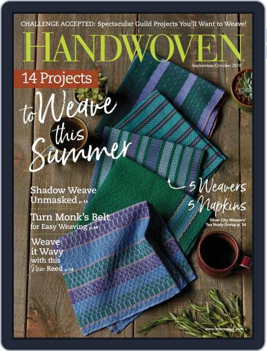 Handwoven September 1st, 2018 Digital Back Issue Cover