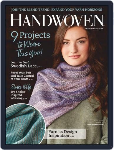 Handwoven January 1st, 2019 Digital Back Issue Cover