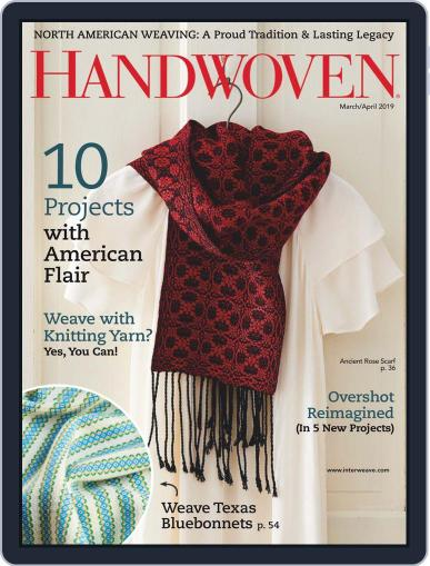 Handwoven March 1st, 2019 Digital Back Issue Cover