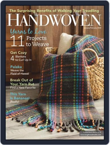 Handwoven January 1st, 2020 Digital Back Issue Cover