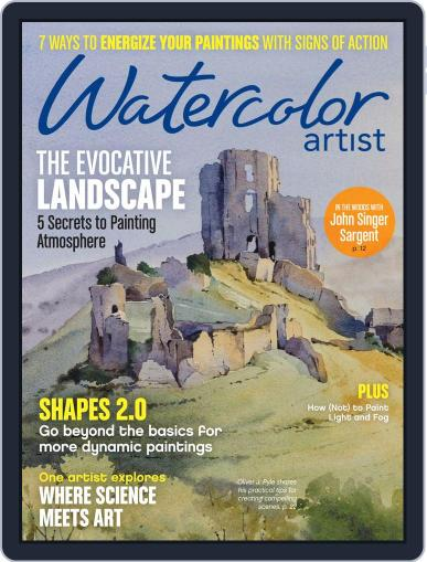 Watercolor Artist October 1st, 2017 Digital Back Issue Cover