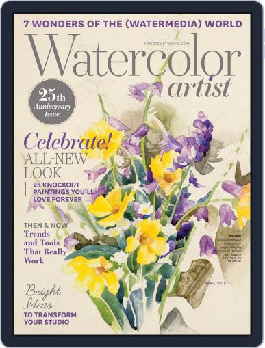 Watercolor Artist January 31st, 2018 Digital Back Issue Cover