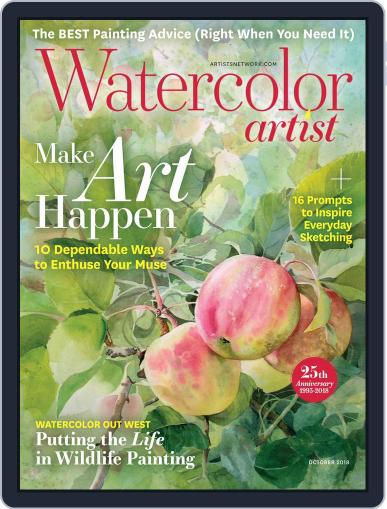 Watercolor Artist October 1st, 2018 Digital Back Issue Cover