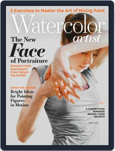 Watercolor Artist April 1st, 2019 Digital Back Issue Cover