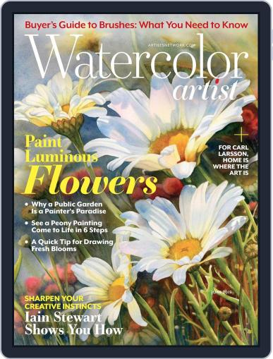 Watercolor Artist June 1st, 2019 Digital Back Issue Cover