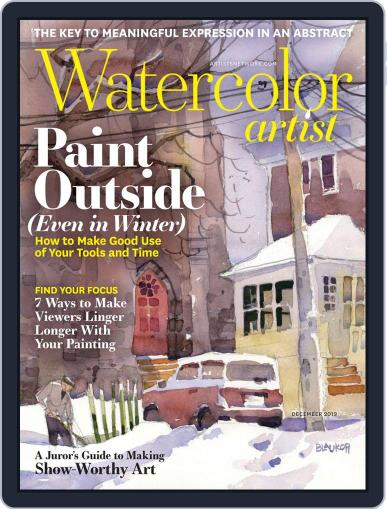 Watercolor Artist December 1st, 2019 Digital Back Issue Cover
