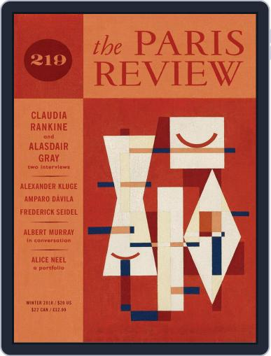 The Paris Review December 1st, 2016 Digital Back Issue Cover