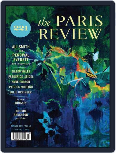 The Paris Review June 1st, 2017 Digital Back Issue Cover