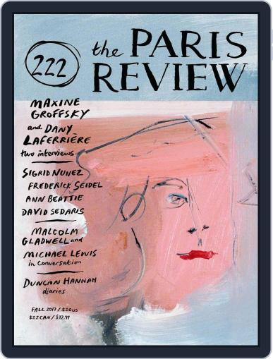 The Paris Review September 4th, 2017 Digital Back Issue Cover