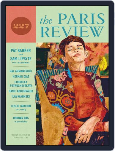 The Paris Review December 1st, 2018 Digital Back Issue Cover