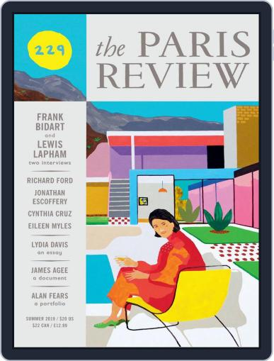 The Paris Review June 1st, 2019 Digital Back Issue Cover