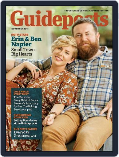 Guideposts November 1st, 2018 Digital Back Issue Cover