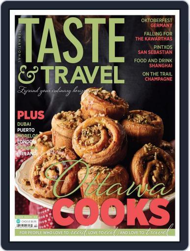 Taste and Travel International October 20th, 2016 Digital Back Issue Cover