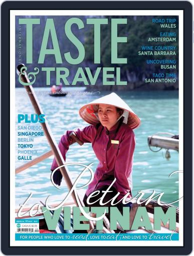 Taste and Travel International January 1st, 2017 Digital Back Issue Cover