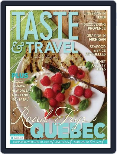 Taste and Travel International April 10th, 2019 Digital Back Issue Cover