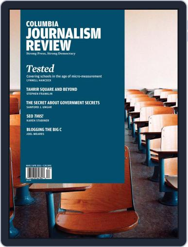 Columbia Journalism Review March 12th, 2011 Digital Back Issue Cover