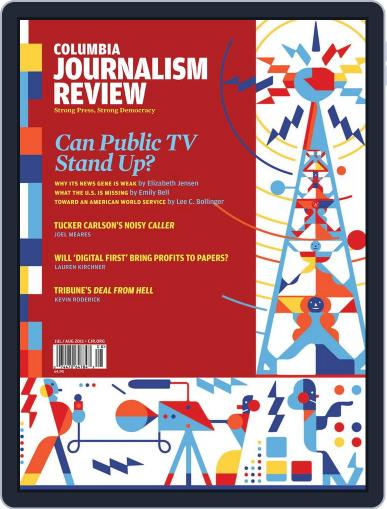 Columbia Journalism Review July 7th, 2011 Digital Back Issue Cover