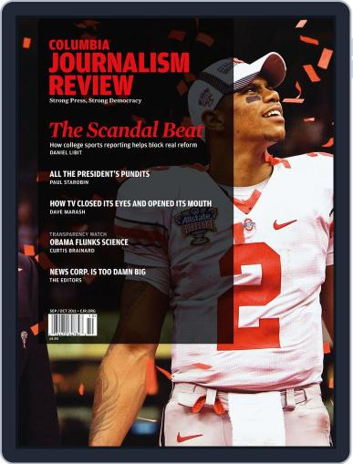 Columbia Journalism Review September 8th, 2011 Digital Back Issue Cover