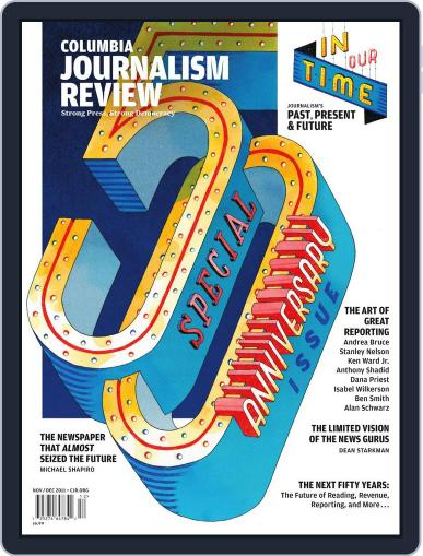 Columbia Journalism Review November 7th, 2011 Digital Back Issue Cover
