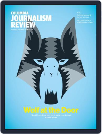 Columbia Journalism Review November 1st, 2014 Digital Back Issue Cover