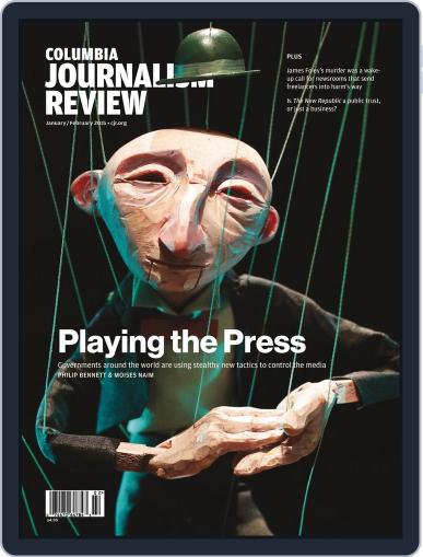 Columbia Journalism Review January 5th, 2015 Digital Back Issue Cover