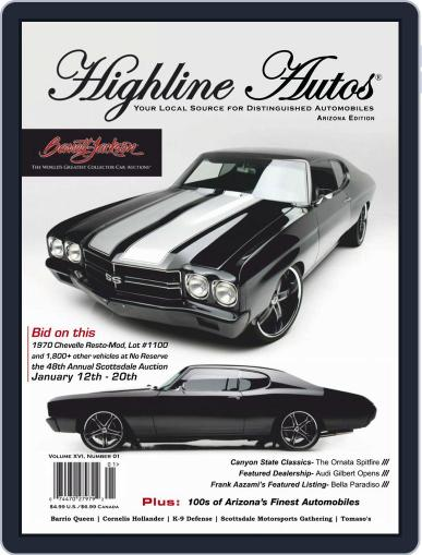 Highline Autos January 1st, 2019 Digital Back Issue Cover