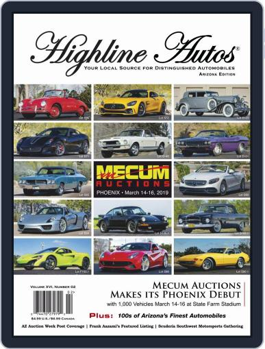 Highline Autos March 1st, 2019 Digital Back Issue Cover